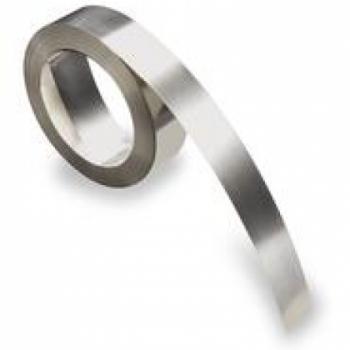 Бесклеевая лента Dymo из нержавеющей стали [32500] (ширина 12мм, длина 6.40 м)
