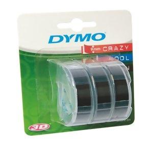 Ленты Dymo [S0847730] для принтера Omega (черные, 9 мм, длина 3 м, 3 ленты/упк)