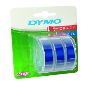 Ленты Dymo [S0847740] для принтера Omega (синие, 9 мм, длина 3 м, 3 ленты/упк)